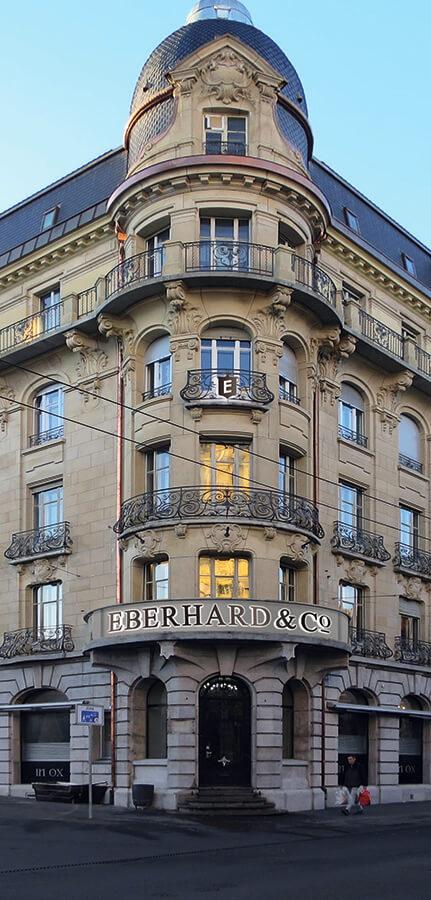 Eberhard Maison de l'Aigle à la Chaux-de-Fonds bureaux, ateliers et Musée de la marque