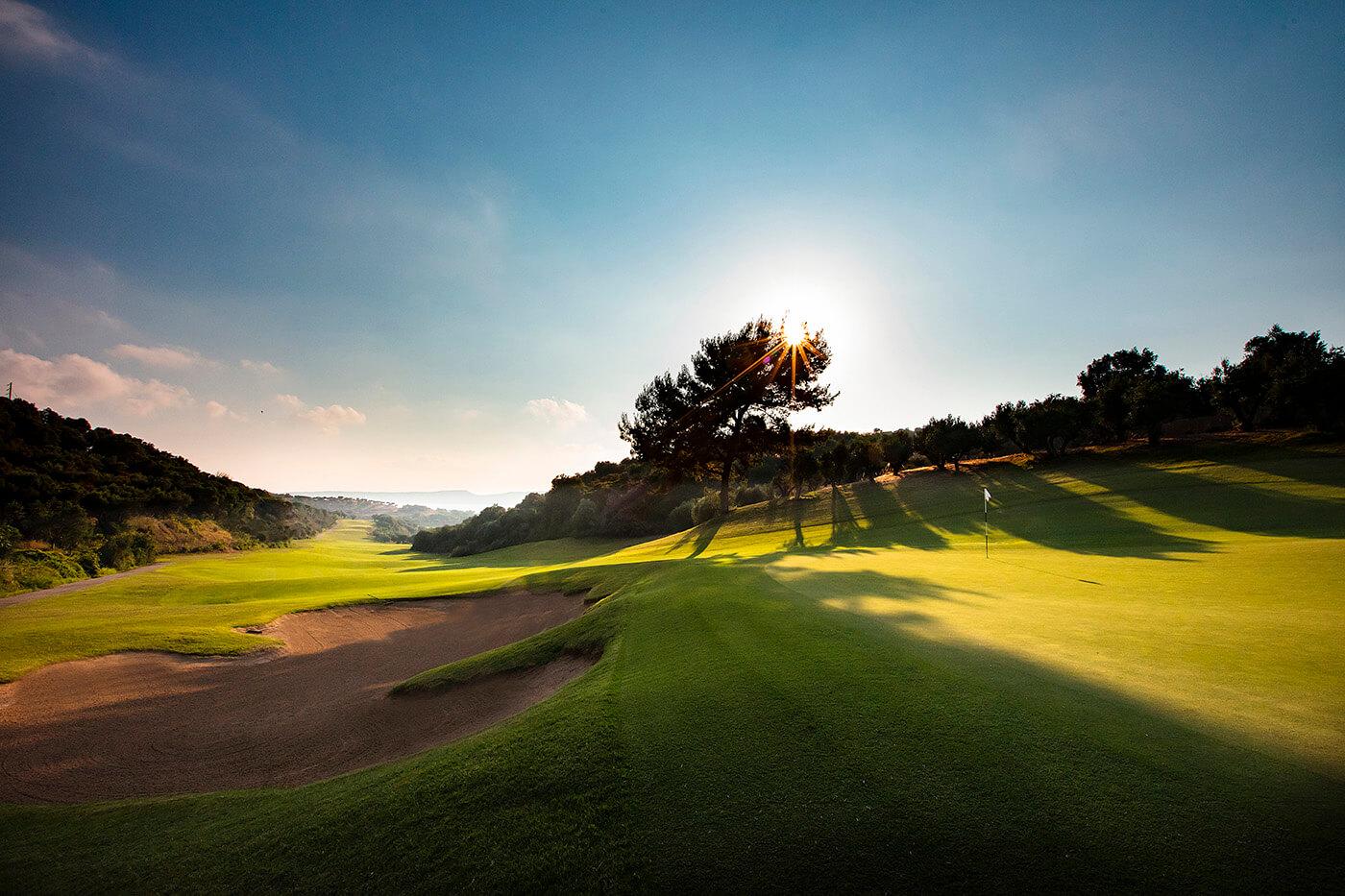 Vue sur le parcours de golf The Bay Course