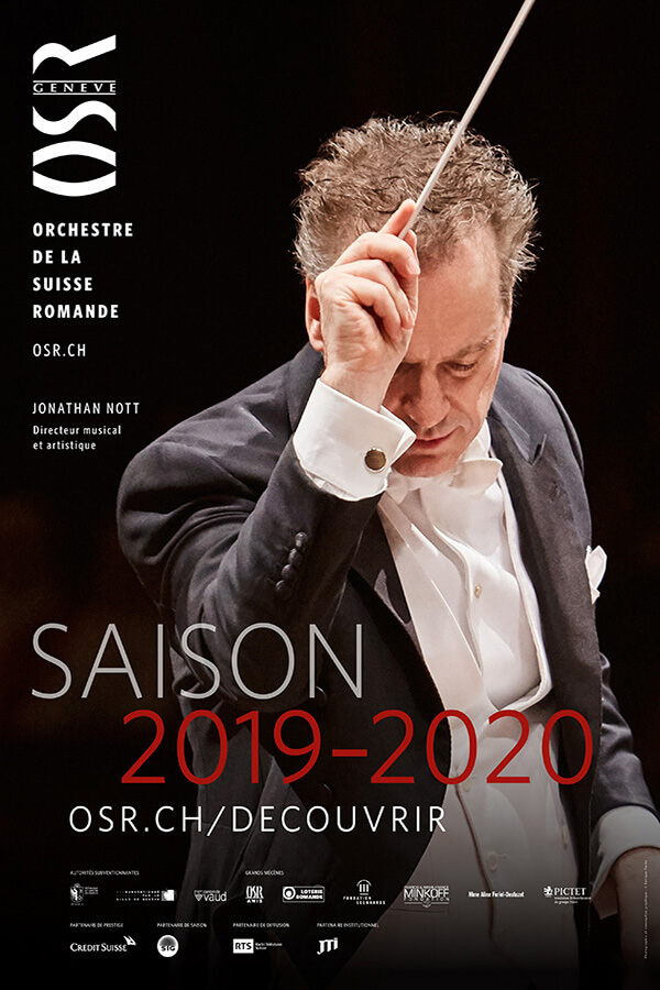 L'OSR _Affiche Saison 2019 2020