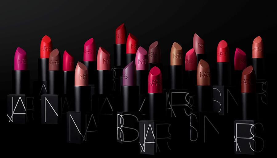 NARS Iconic Lipstick une gamme de 72 nuances glamour et sensuelles