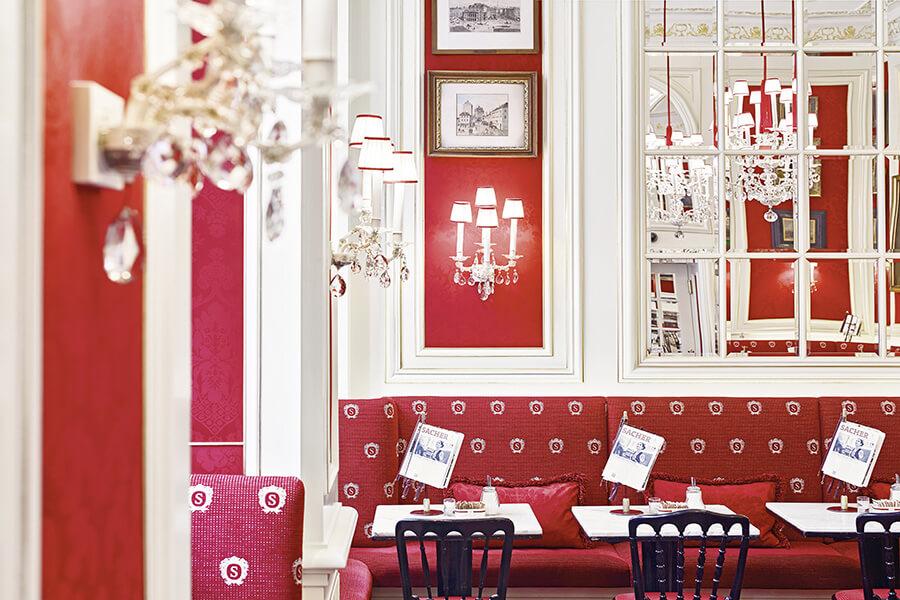 Hotel Sacher et son célèbre café à Vienne Wien Cafe Sacher©
