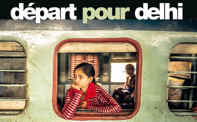 Couverture du livre Départ pour Delhi