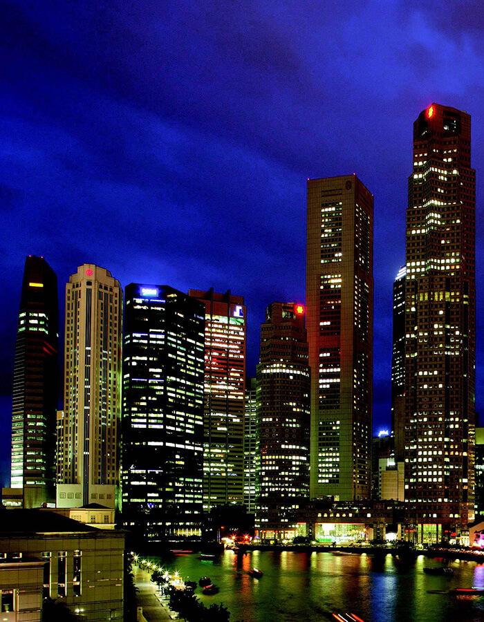 Singapour l'Ile-Cité point de départ de l'aventure Orient Express