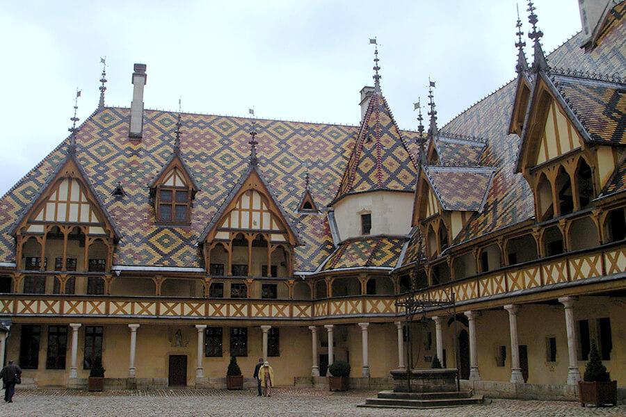Haut lieux de la Bourgogne les Hospices de Beaune