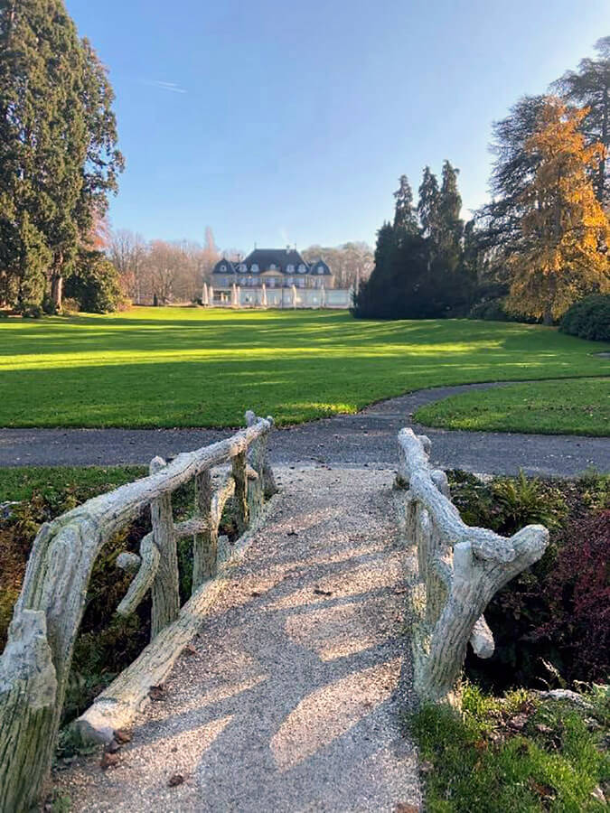 Le Parc des Eaux-Vives , un site unique à Genève