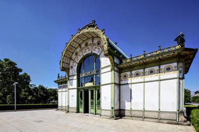 Karlsplatz Pavillon par Otto Wagner (c) Christian Stemper