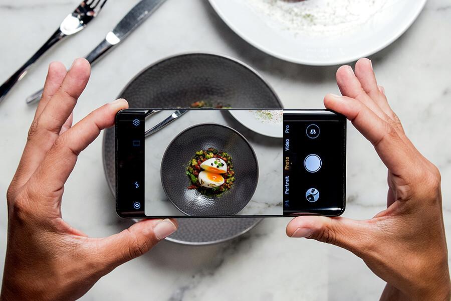 Des plats comme des tableaux, ou l'importance des saveurs et de la présentation ©pmonetta-