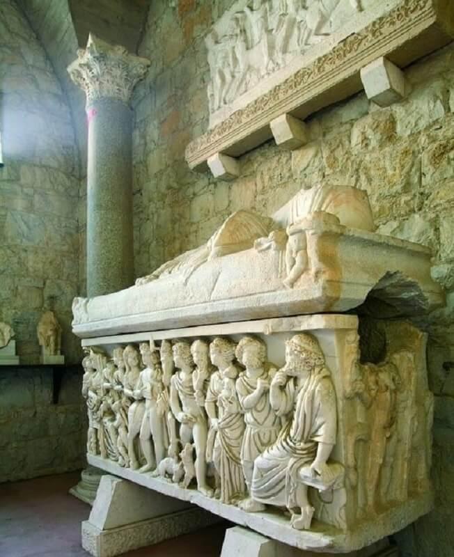 Le Musée archéologique de la ville de Split (c)Office de Tourisme Croatie