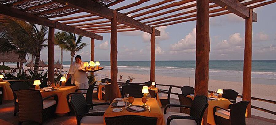 Après les visites face à la mer à l'heure des délices du Chef (c) Pitero Maroma Resort OE