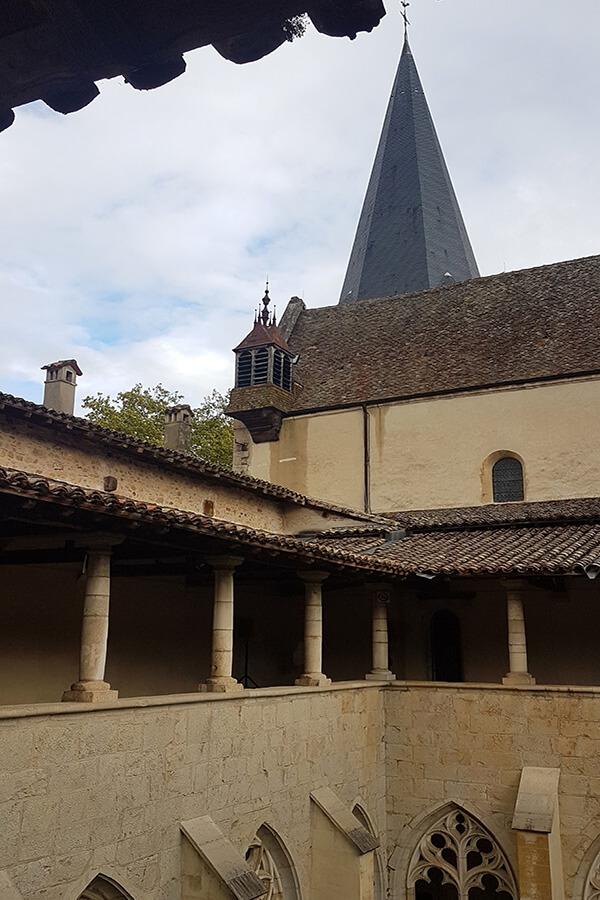 Vue générale sur l'Abbaye (c)GAD