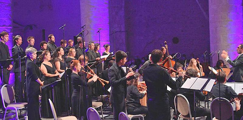 Les Ombres Choeur Concert Spirituel De Venise à Versailles ©_Bertrand_PICHENE-CCR_Ambronay
