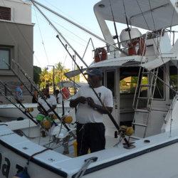 Préparation à la pêche. G.A.-D