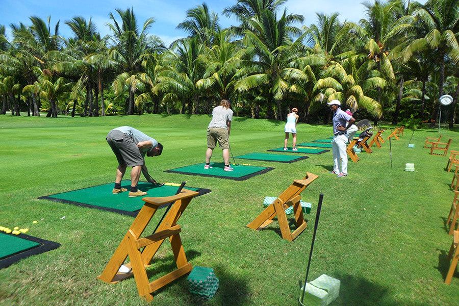 Initiation au golf G.A.-D.
