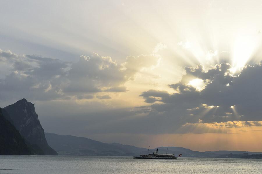 Escapade en bateau vers Vitznau