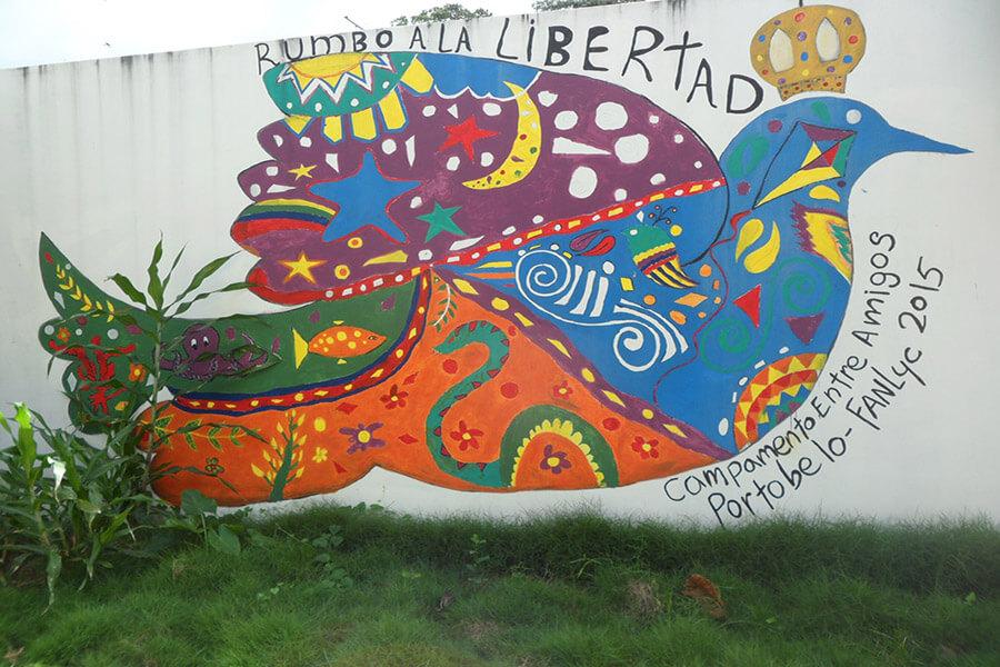 Street art à Portobelo