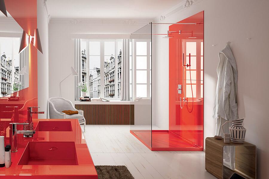 Cosention ambiance couleur Collection salle de bains