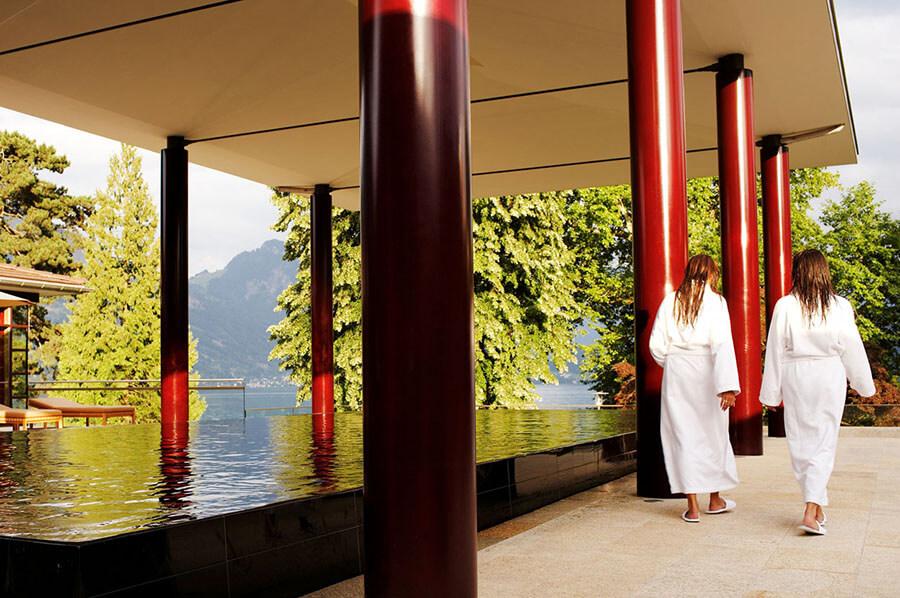 Park Hotel Weggis espace piscine