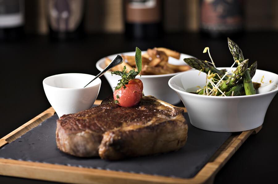 Park Hotel Weggis Park Grill Restaurant T-Bone steak