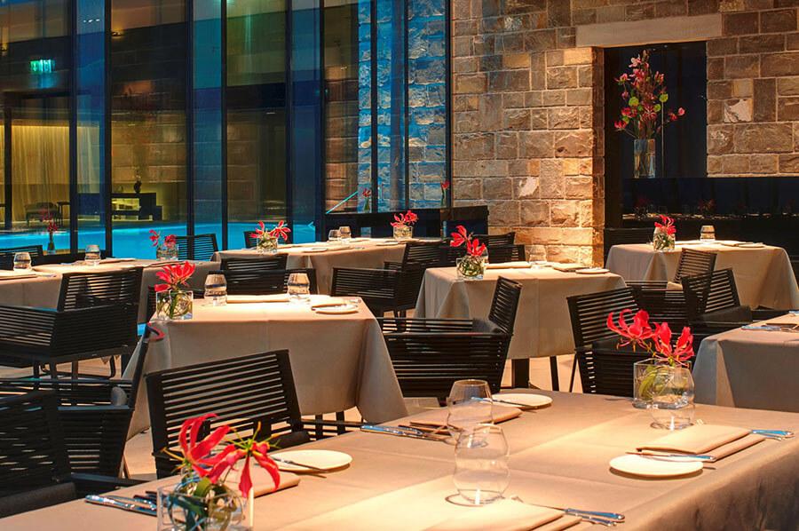 Le restaurant Prisma une étoile au Michelin Park Hotel Vitznau