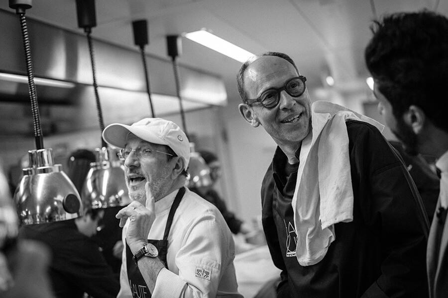 En cuisine Alain Caron et Joël Cesari (c) Gilles Marquis