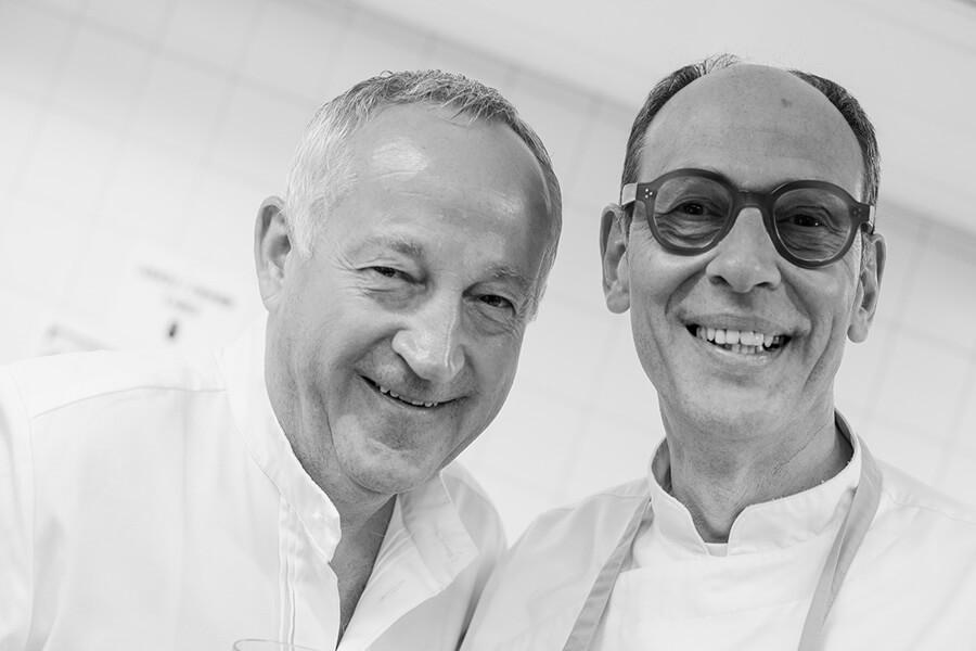 La bonne humeur règne Edgard Bovier et Joël Cesari (c) Gilles Marquis