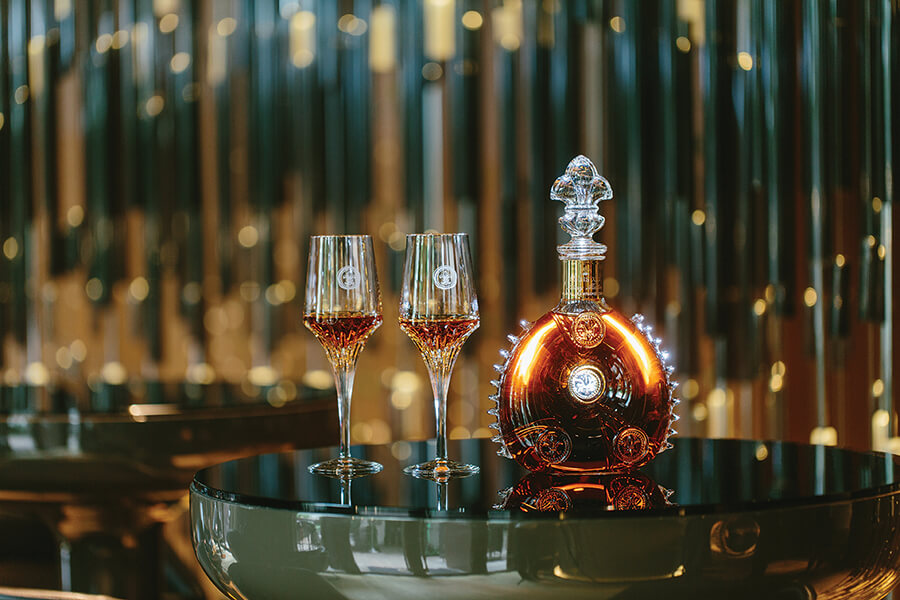 Unique LOUISXIII le premier cru de Cognac assemblé avec 1200 eaux-de-vie