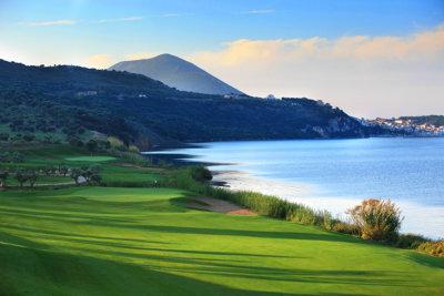 Costa Navarino Bay Course en bord de mer