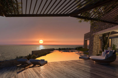Une villa front de mer de l'architecte A.N. Tombazis et Associés