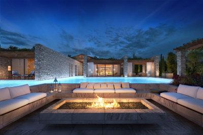 Face à la mer, une villa signée ISV Architects