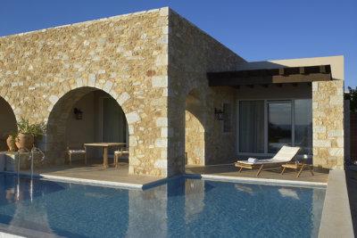 Une suite de l'hôtel Westin avec piscine privée