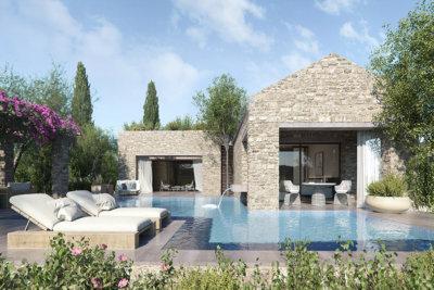 Villa face au golf conçue par ISV Architects