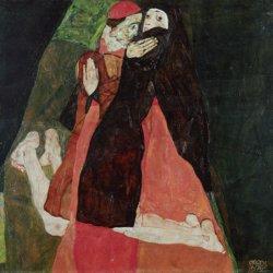 Le Cardinal et la Nonne de Schiele