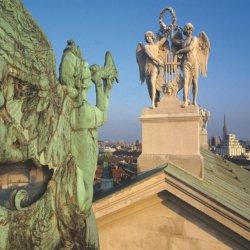 Les toits de la Cathédrale St. Stephen (c) Wien Tourismus. Lois Lammerhuber