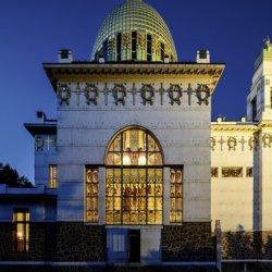 Arrivée de la Gare Centrale par Otto Wagner