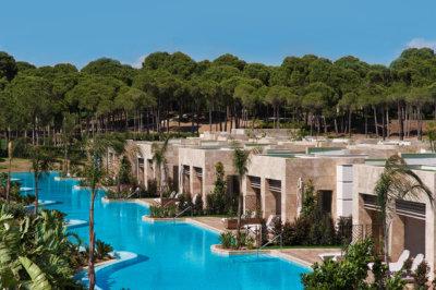 Carya Residence aux abords du golf de l'Hôtel Regnum