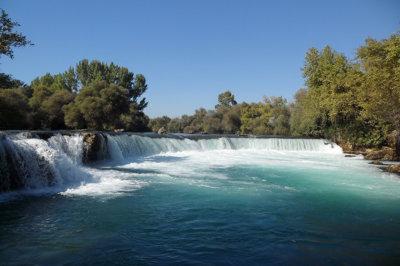 Manavgat connue pour ses rapides et chutes d'eau (c) G.A.-D.