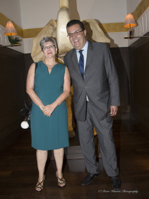Annick Gabriel et Methaf Daoud