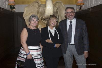 Odette Saez, Membre du Comité de gestion du Fonds Lionel Perrier et Représentante du Grand Conseil au Conseil d'administration des HUG