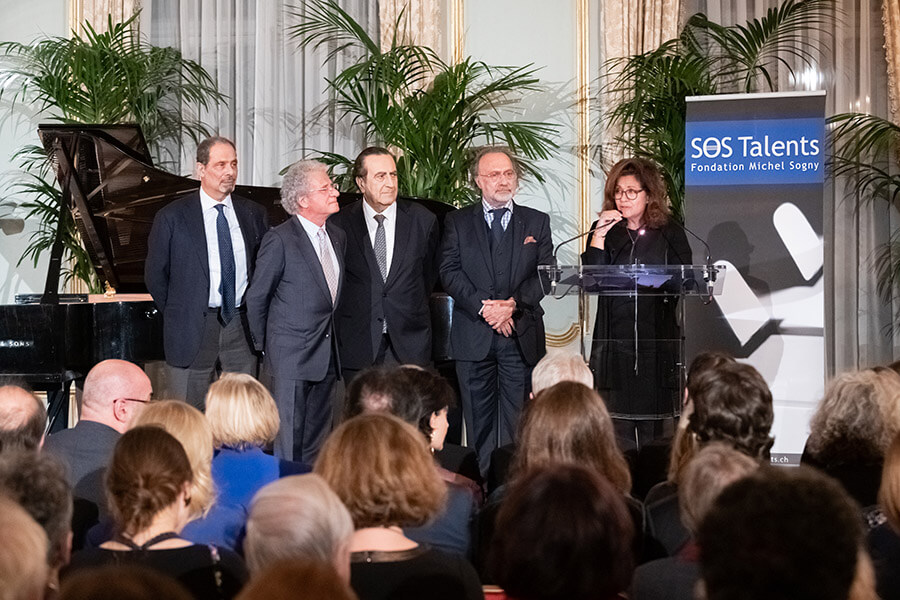 Bienvenue et allocution par Marie-Hélène Dassault-Haber