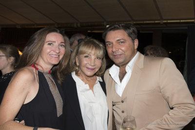 Laetitia Perrier Guigui, Evelyne Sogny Pen de Castel et Alexandre Glat-Baychon