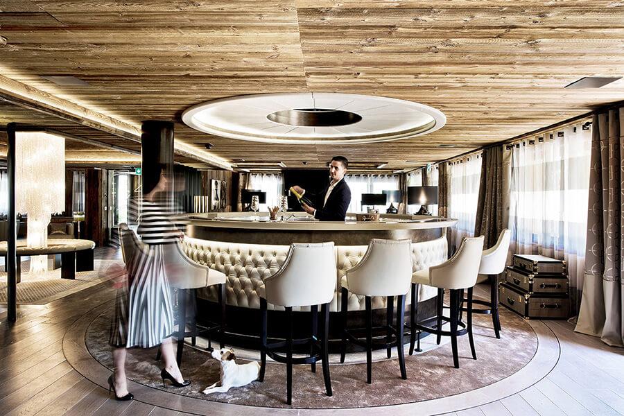 Le bar et son ambiance intime (C) F.Ducout