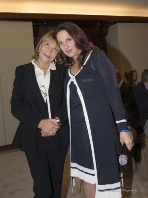 Evelyne Sogny Pen de Casterl et Dre Stéphane Couty, PhD, Secrétaire Générale de la Fondation privée des HUG