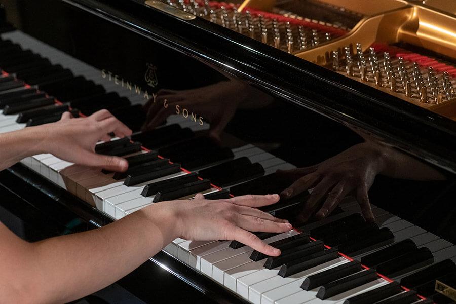 Alexandra Massaleva au piano