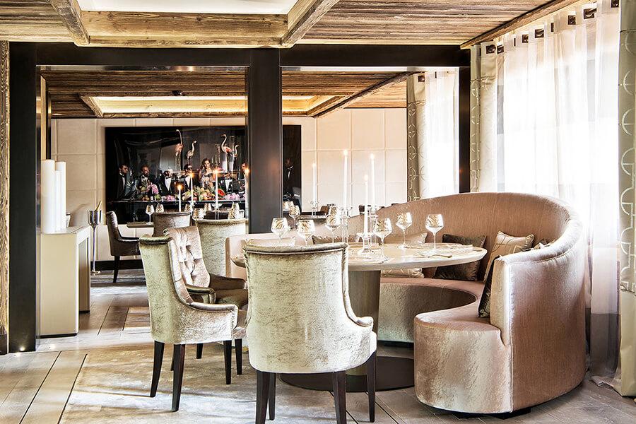 Une vue sur le restaurant F.Ducout