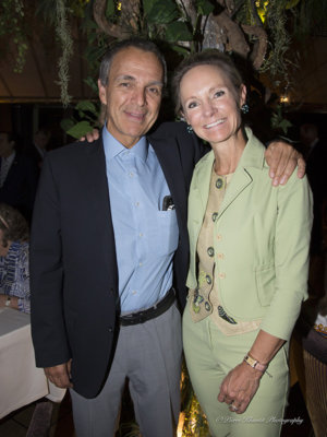 Prof. Pierre-Yves Dietrich et Dominique Brustlein