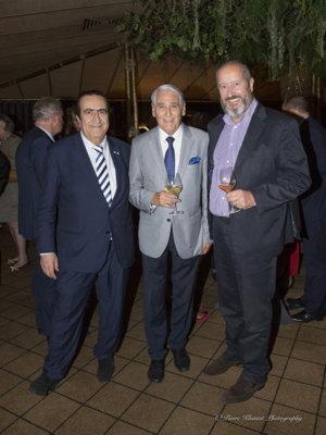 Michel Sogny, Carlo Lamprecht Parrain du Fonds Lionel Perrier