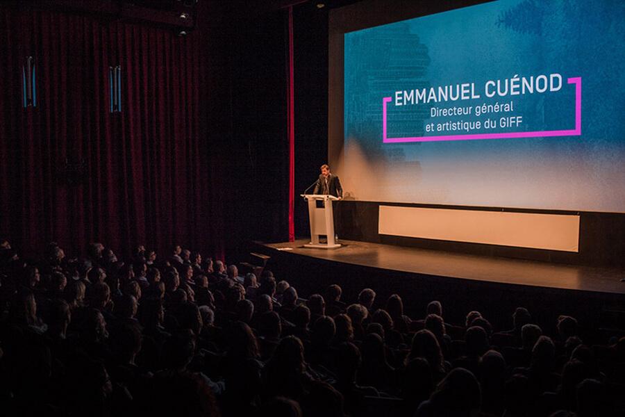 Emanuel Cuénod Directeur artistique et Directeur GIFF