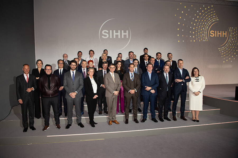 CEOs et Direction des marques exposantes SIHH 2019 (C)RaphaelFaux