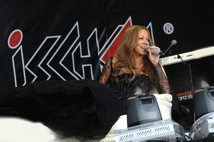 Top of the Mountain Concert de clôture avec Mariah Carey