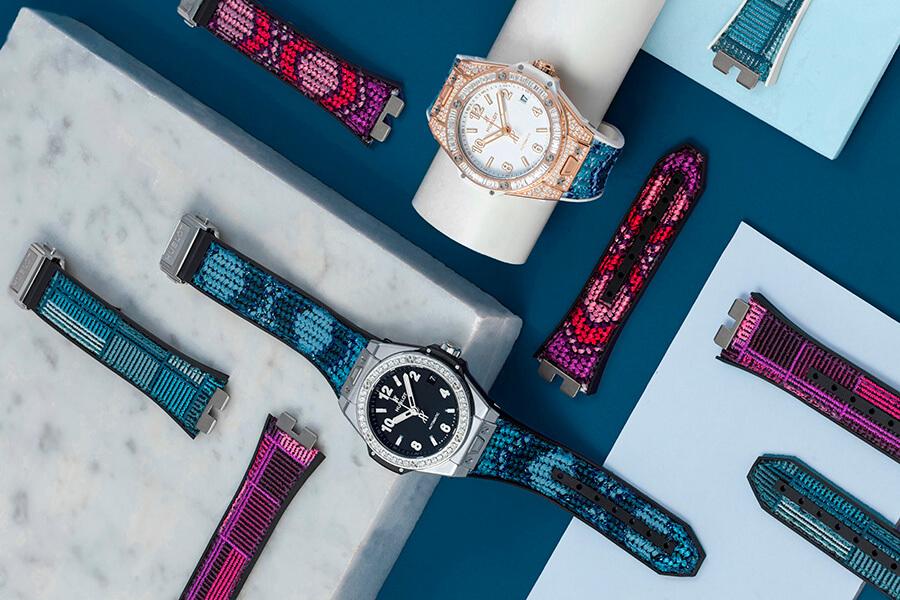 Hublot pour varier la garde-robe Strap collection One Click avec 6 variantes